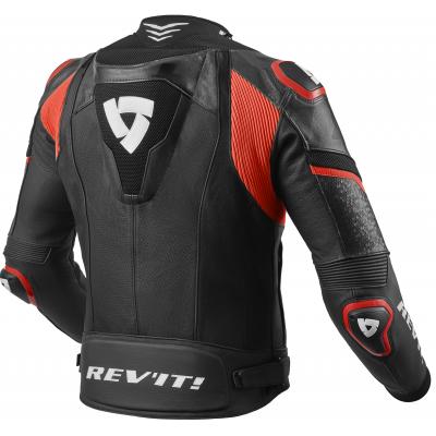 REVIT bunda HYPERSPEED PRO black/neon red
