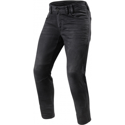 REVIT kalhoty jeans DETROIT TF Long medium grey