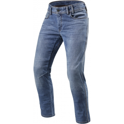 REVIT kalhoty jeans DETROIT TF Long classic blue