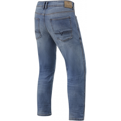 REVIT kalhoty jeans DETROIT TF Long classic blue