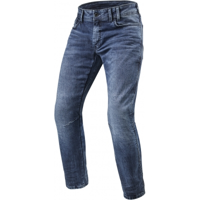 REVIT kalhoty jeans DETROIT TF medium blue