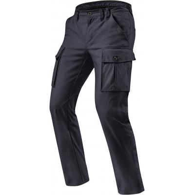REVIT kalhoty jeans CARGO SF Short black