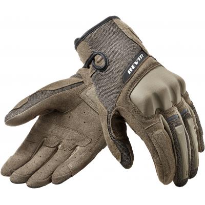 REVIT rukavice VOLCANO sand/black