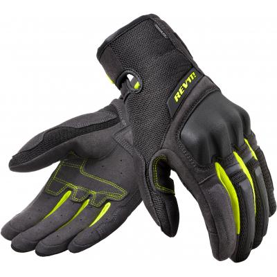 REVIT rukavice VOLCANO dámské black/neon yellow