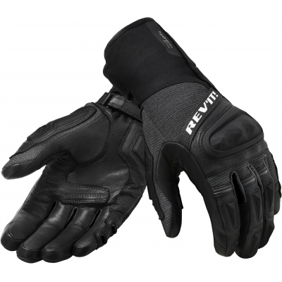 REVIT rukavice SAND 4 H2O black