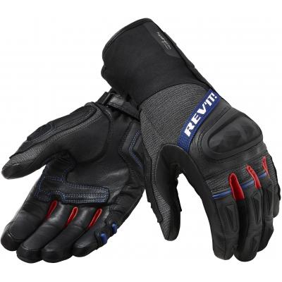 REVIT rukavice SAND 4 H2O black/red