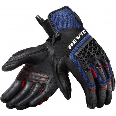 REVIT rukavice SAND 4 black/blue
