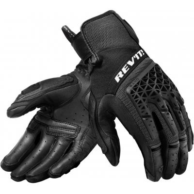 REVIT rukavice SAND 4 black