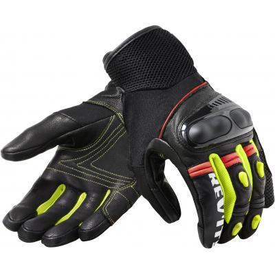 REVIT rukavice METRIC black/neon yellow