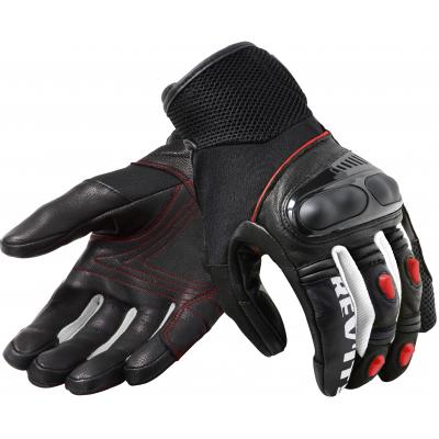 REVIT rukavice METRIC black/neon red