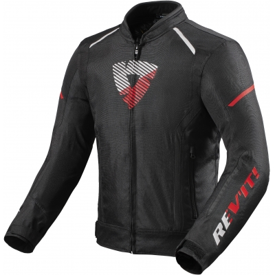 REVIT bunda SPRINT H2O black/neon red