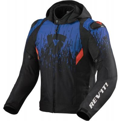 REVIT bunda QUANTUM 2 H2O black/blue