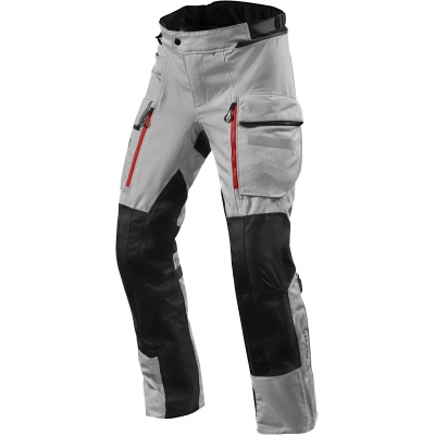 REVIT kalhoty SAND 4 H2O Short silver/black