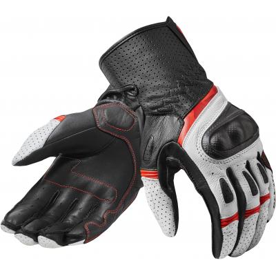 REVIT rukavice CHEVRON 3 white/red