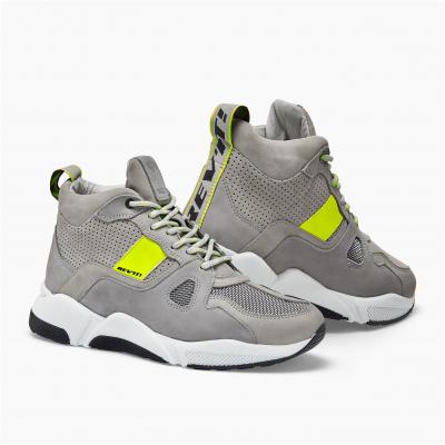 REVIT boty ASTRO grey/neon yellow