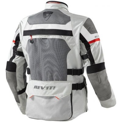 REVIT bunda CAYENNE PRO light grey/red
