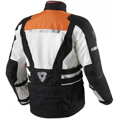 REVIT bunda SAND 2 black/orange
