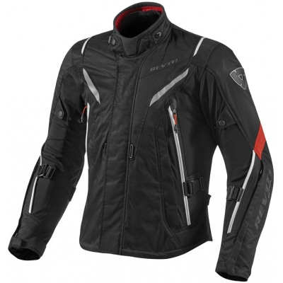 REVIT bunda VAPOR black/red
