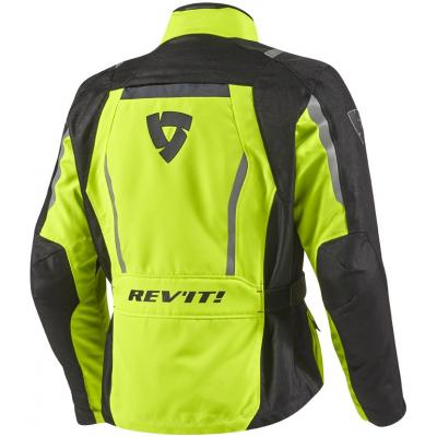 REVIT bunda VOLTIAC HV black/neon yellow