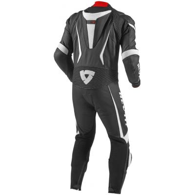 REVIT kombinéza GT-R 1-dílná pánská black/white