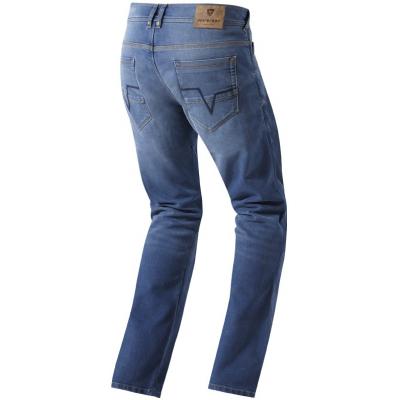 REVIT kalhoty JERSEY light blue
