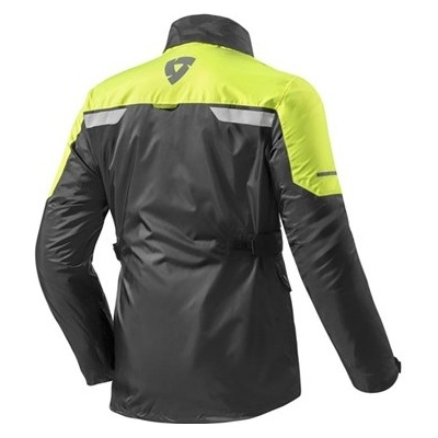 REVIT bunda NITRIC 2 H2O black / neon yellow