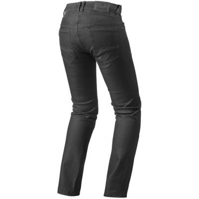 REVIT kalhoty jeans ORLANDO H2O RF Voděodolné black