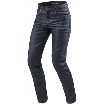 REVIT kalhoty jeans LOMBARD 2 RF Long dark blue