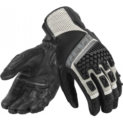 REVIT rukavice SAND 3 black/silver