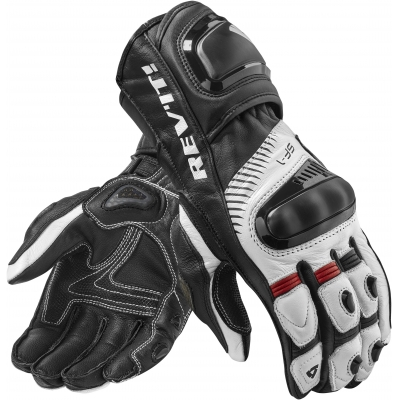 REVIT rukavice SPITFIRE white/black