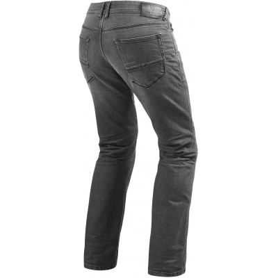 REVIT nohavice jeans PHILLY 2 LF Short dark grey