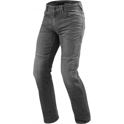 REVIT kalhoty jeans PHILLY 2 LF Short dark grey