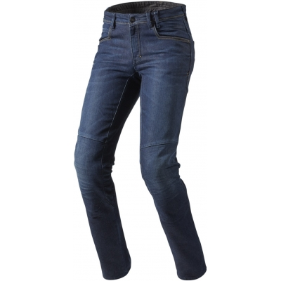 REVIT kalhoty jeans SEATTLE TF Short dark blue