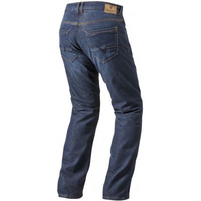 REVIT kalhoty jean ROCKEFELLER CE LF dark blue