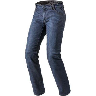 REVIT kalhoty jeans ROCKEFELLER CE LF Long dark blue