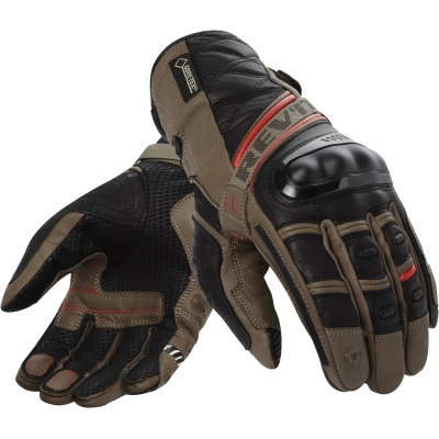 REVIT rukavice DOMINATOR GTX sand/red