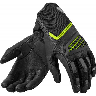 REVIT rukavice NEUTRON 2 black/neon yellow