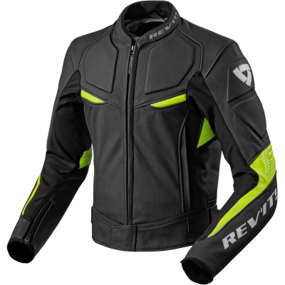 REVIT bunda MASARU black/neon yellow
