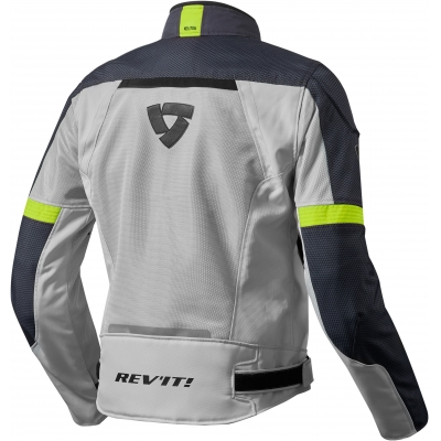 REVIT bunda AIRWAVE 2 silver/neon yellow