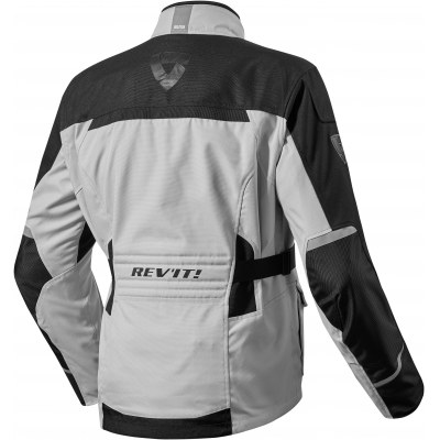 REVIT bunda ENTERPRISE silver / black