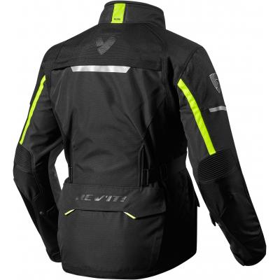 REVIT bunda OUTBACK 2 black / neon yellow