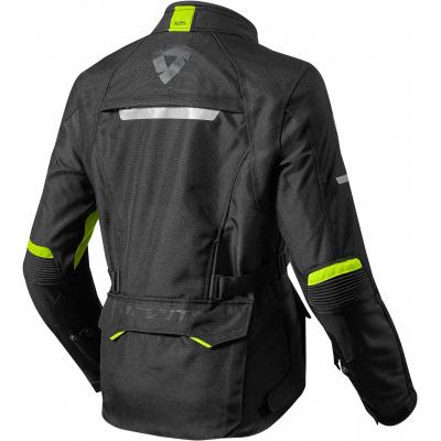REVIT bunda OUTBACK 2 dámska black / neon yellow