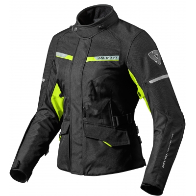 REVIT bunda OUTBACK 2 dámská black/neon yellow