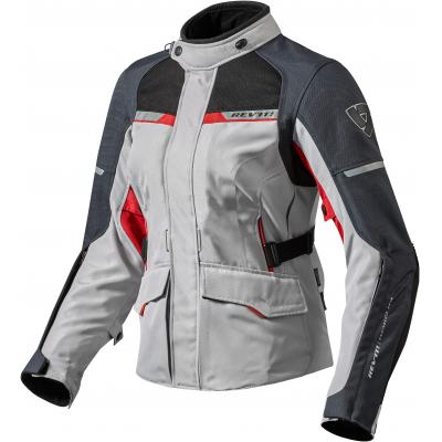 REVIT bunda OUTBACK 2 dámská silver/red