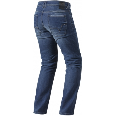 REVIT kalhoty jean AUSTIN TF medium blue