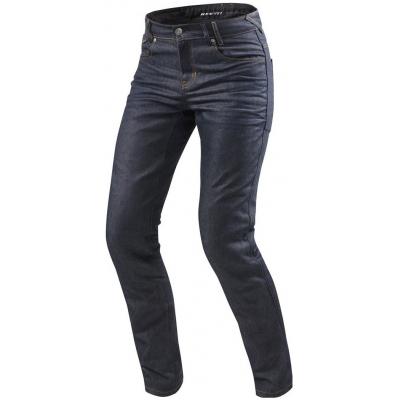 REVIT kalhoty jeans LOMBARD 2 RF Short dark blue