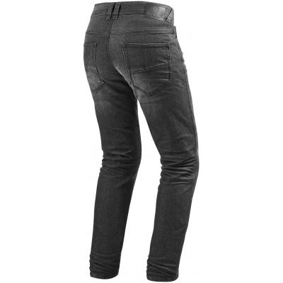 REVIT nohavice jean VENDOME 2 RF dark grey