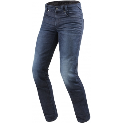 REVIT kalhoty jeans VENDOME 2 RF Long dark blue