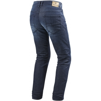 REVIT kalhoty jean VENDOME 2 RF Long dark blue