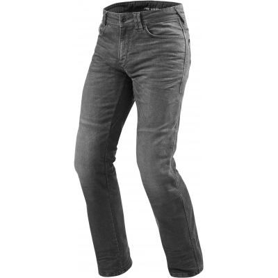 REVIT nohavice jeans PHILLY 2 LF Long dark grey